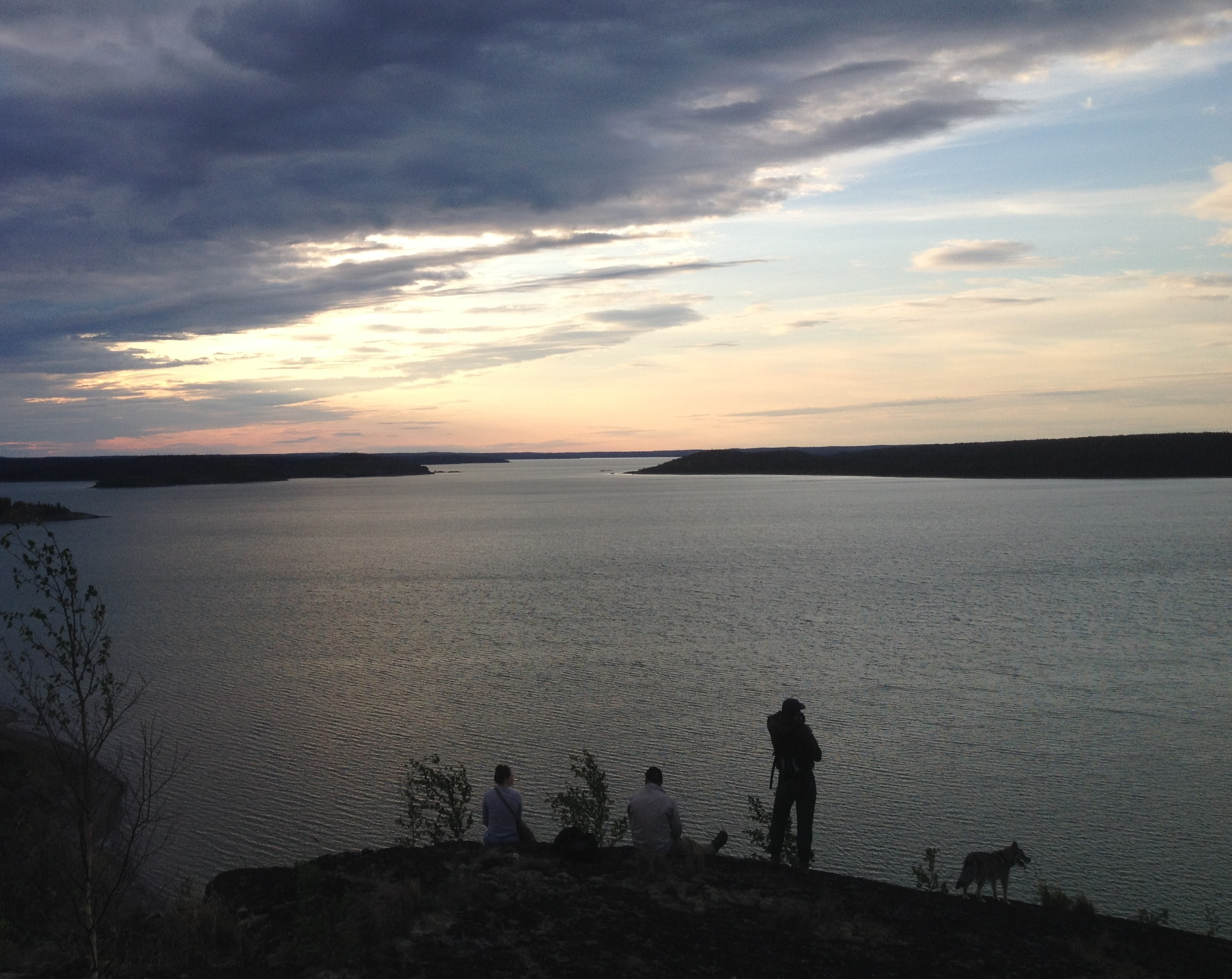 A Summer Evening In Canada's Northwest Territories