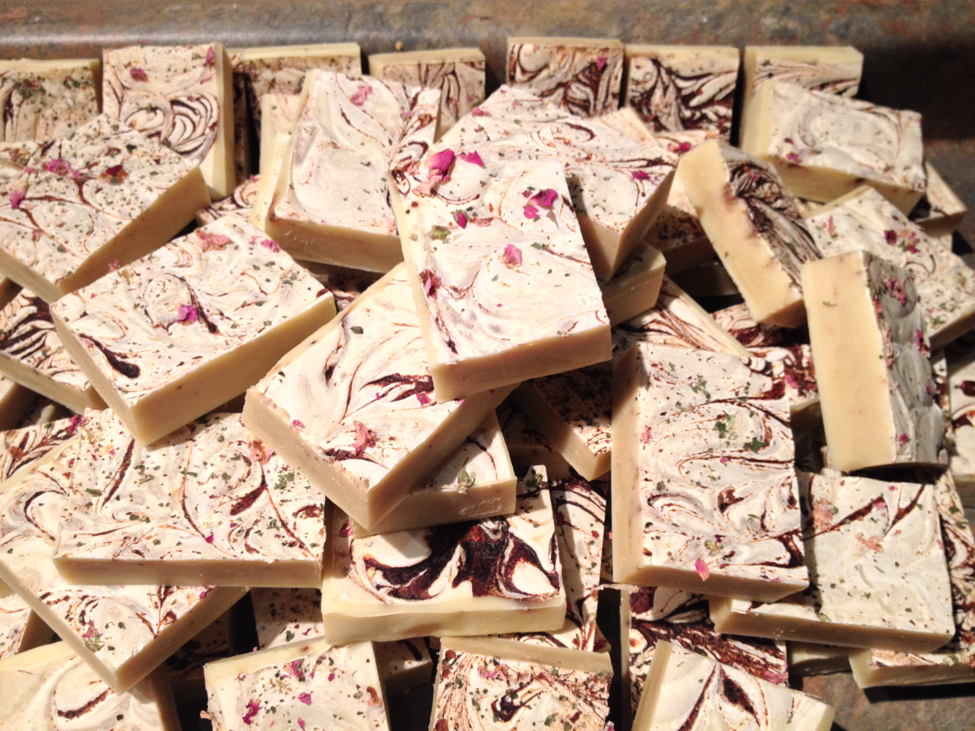 Wild Cranberry And Rose Soap