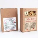 Wild Rose & Cranberry Wild Soap