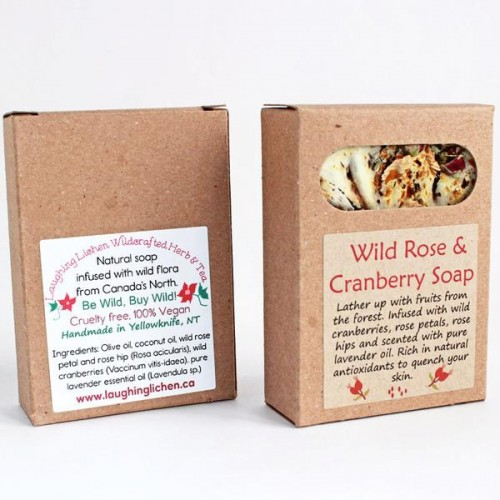 Wild Rose & Cranberry Wild Soap