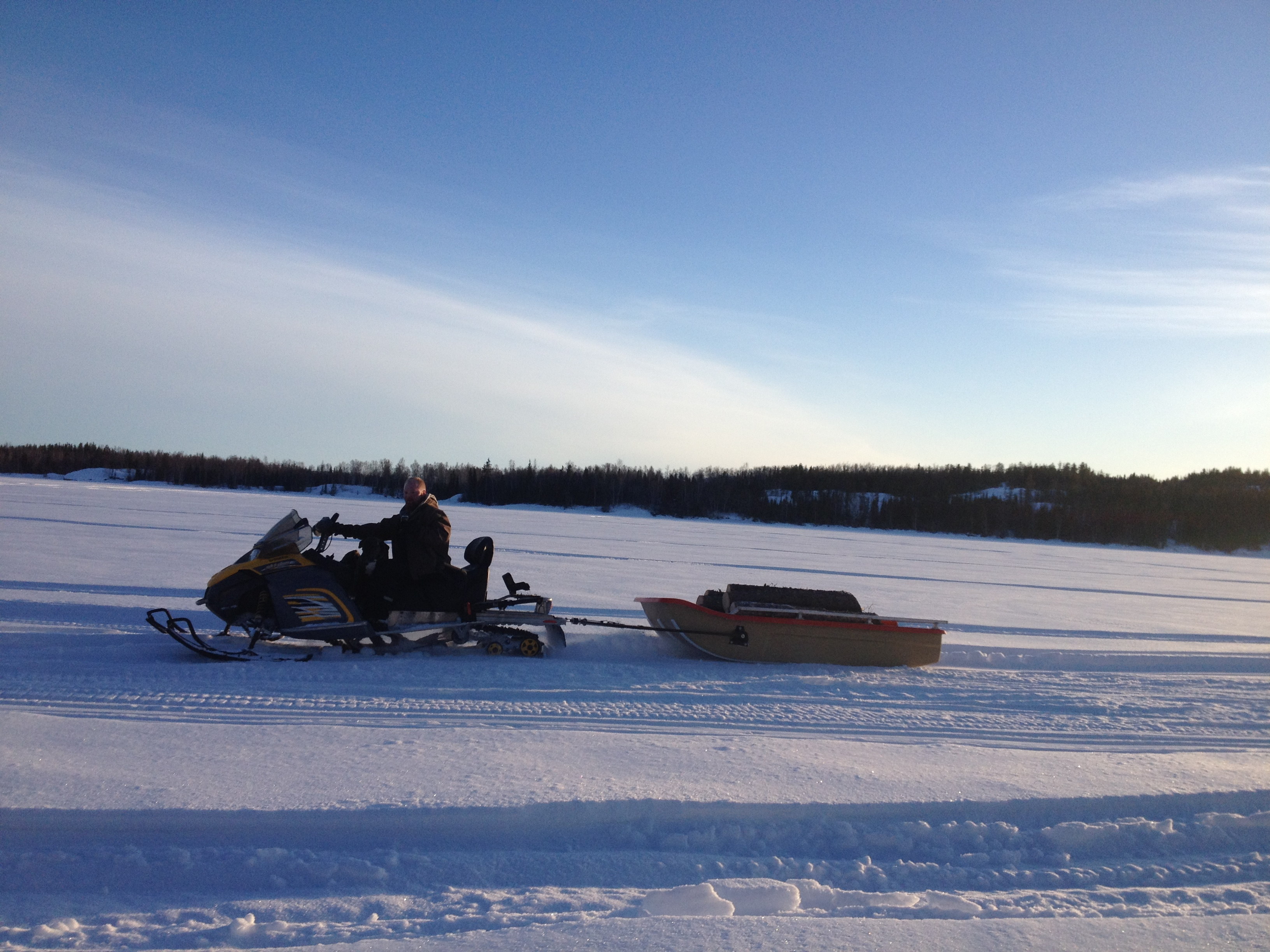 Collecting Firewood, NWT