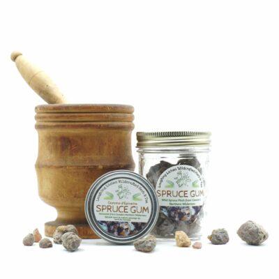 Herbs + Mushrooms + Berries